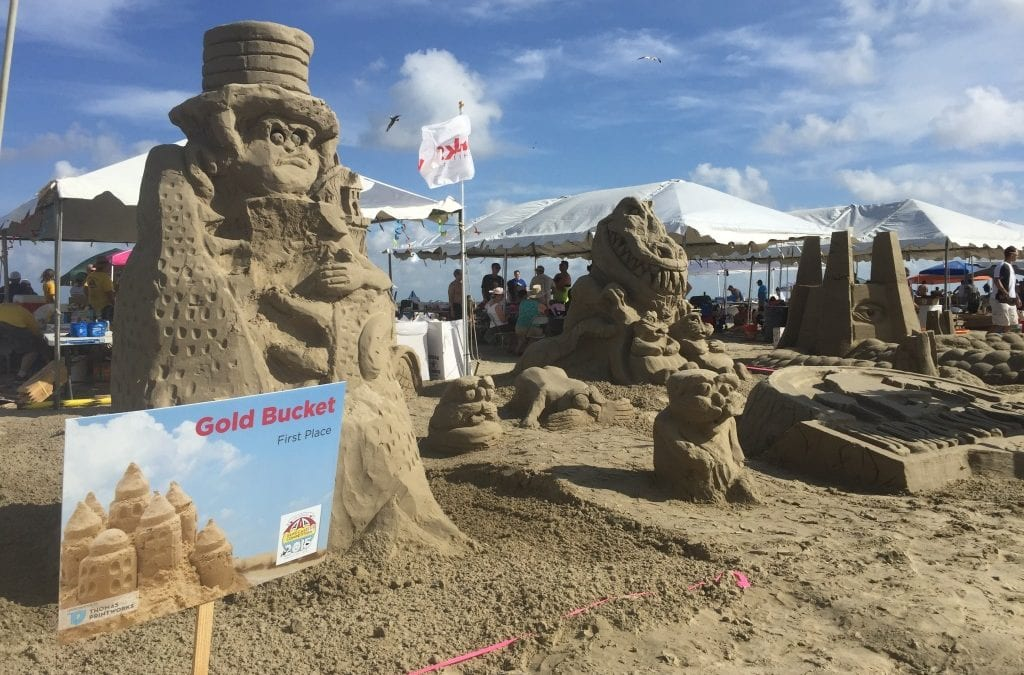 Kirksey-Metzger team awarded the Golden Bucket at the 2015 AIA Sandcastle Competition in Galveston!