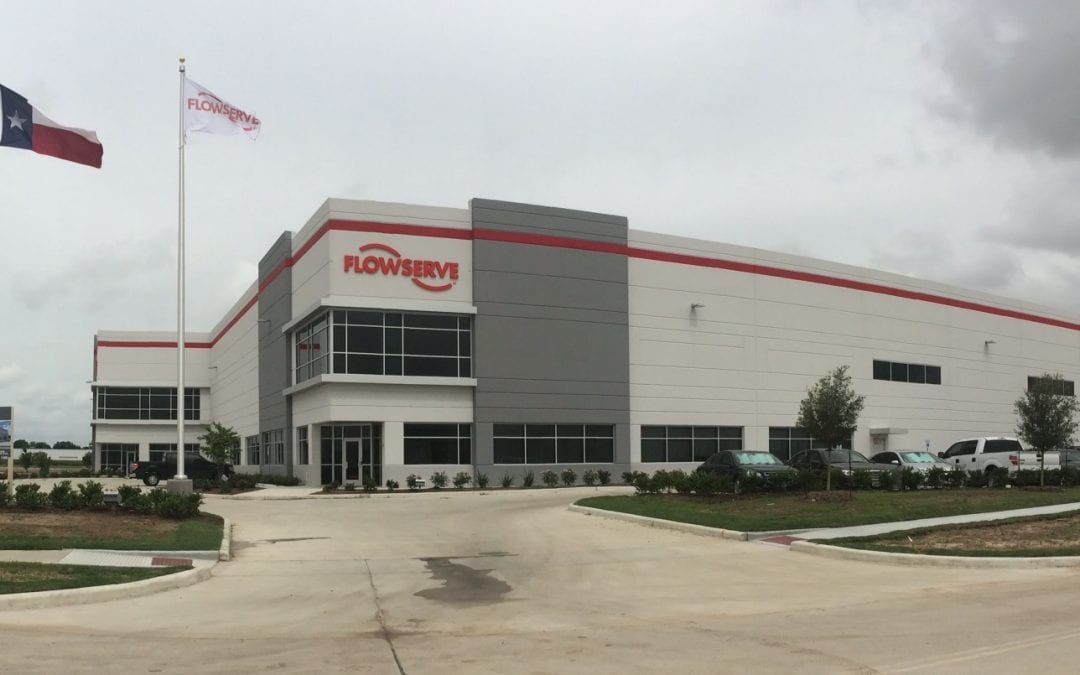 Flowserve Industrial Manufacturing and Distribution Center Recently Completed