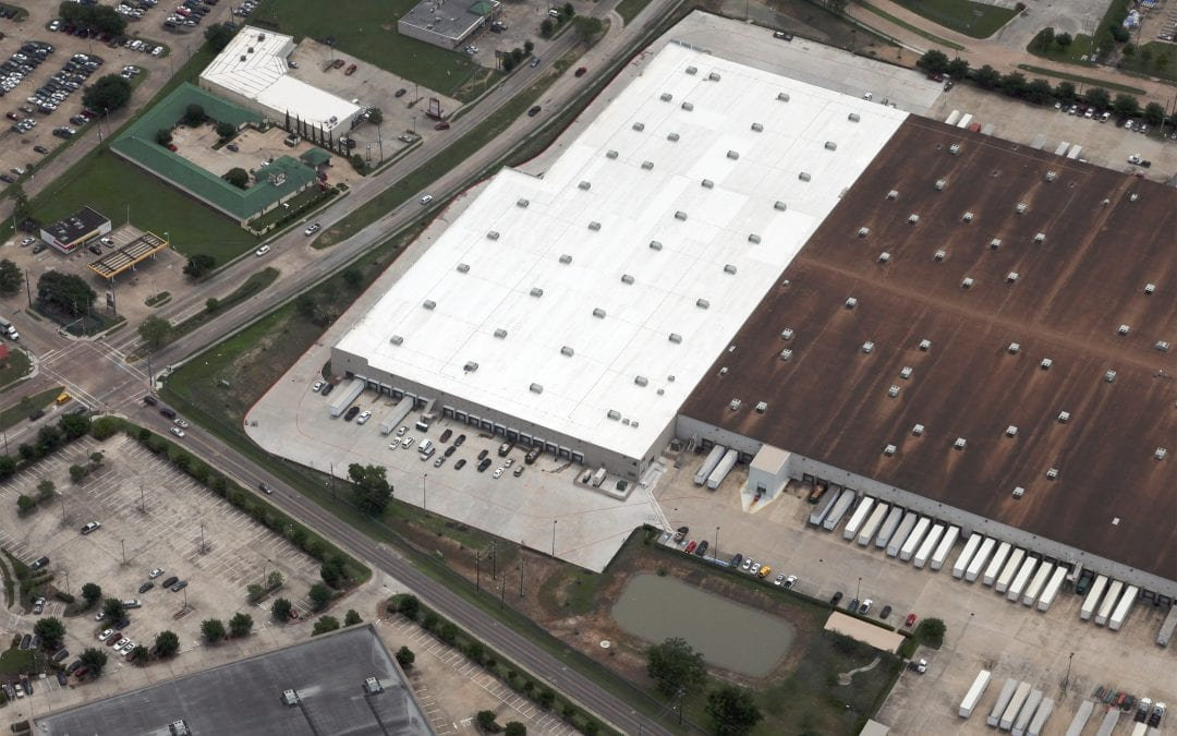 430,000 sf Mens Wearhouse Distribution Facility Addition in Southwest Houston