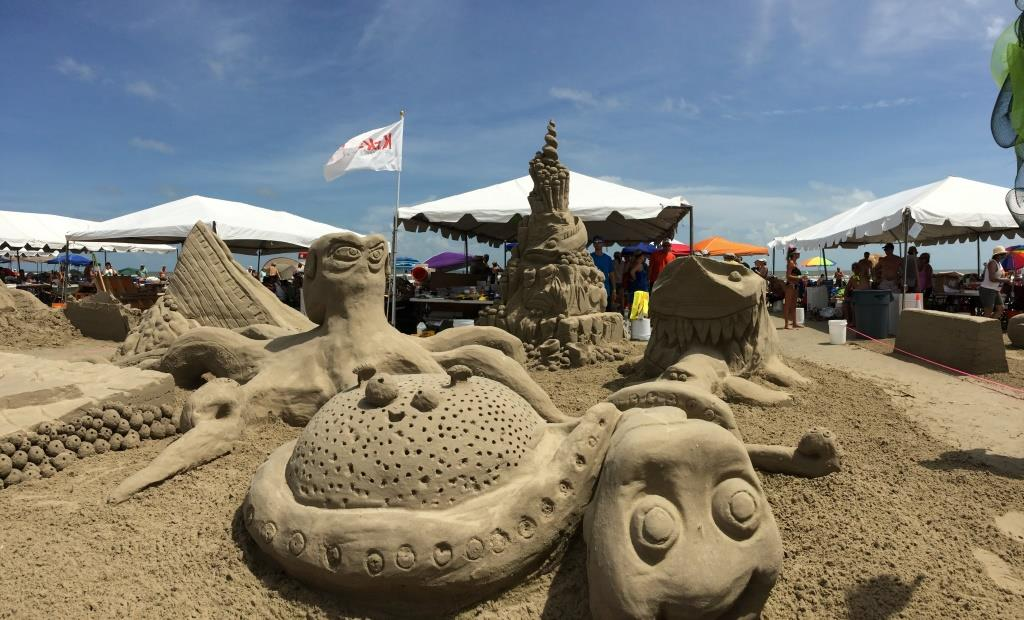 2016 AIA Galveston Sandcastle Golden Bucket Winners for the Second Year in a Row!