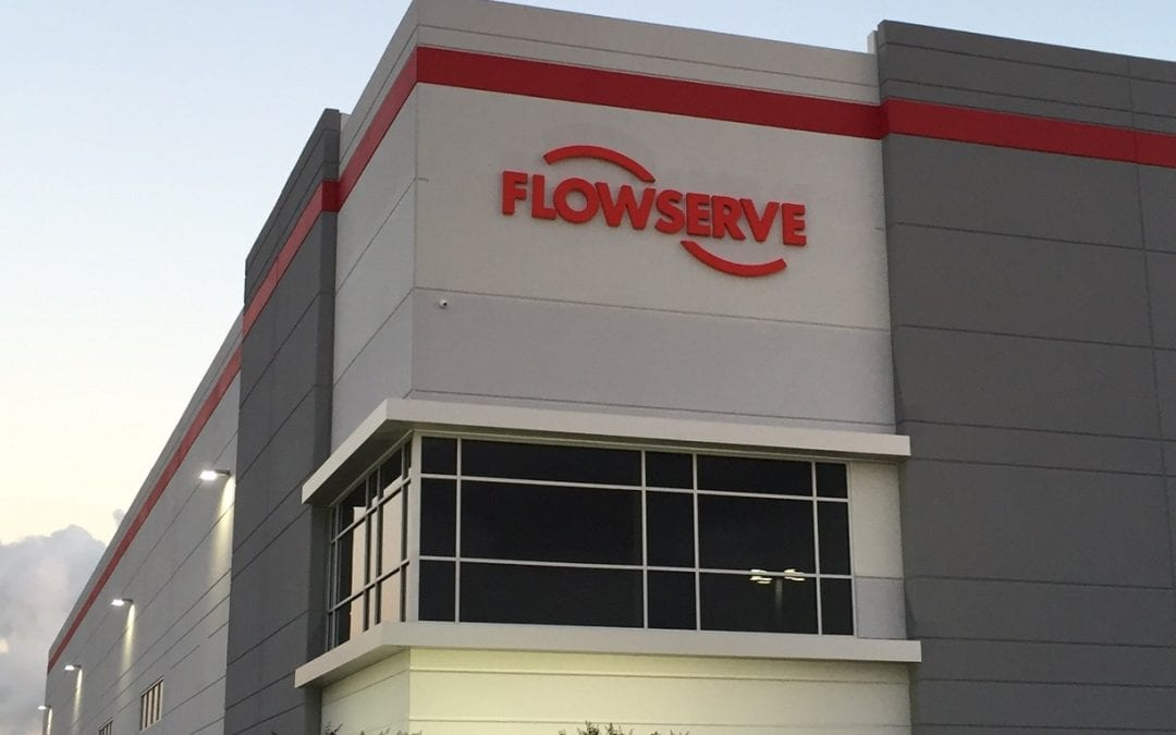 Second Flowserve Industrial Manufacturing and Distribution Center Recently Completed