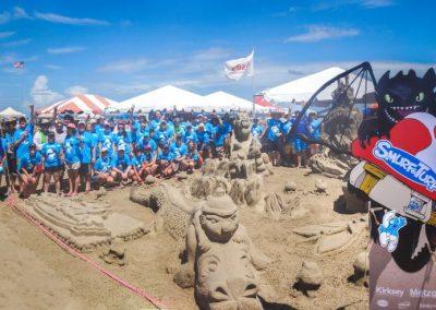 Kirksey & Metzger Team_2017 Sandcastle_Smurf & Turf